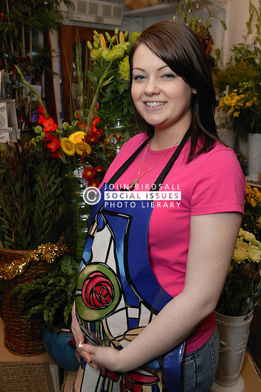 Portrait of a florist in flower shop,