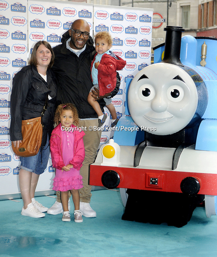 Thomas and Friends Tale of the Brave UK Premiere at Vue West End, Leicester Square, London on August 10th, 2014<br /> <br /> Photo by Bob Kent