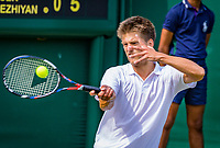 London, England, 5 th. July, 2018, Tennis,  Wimbledon, Men's doubles: Sander Arends (NED)<br /> Photo: Henk Koster/tennisimages.com