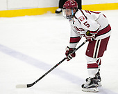 Clay Anderson (Harvard - 5) - The Harvard University Crimson defeated the Yale University Bulldogs 6-4 in the opening game of their ECAC quarterfinal series on Friday, March 10, 2017, at Bright-Landry Hockey Center in Boston, Massachusetts.