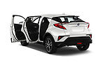 Car images close up view of a 2018 Toyota C-HR C-LUB 5 Door SUV doors
