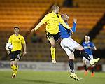 Kris Boyd outjumped by Darren Cole