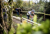 CX World Champion Sanne Cant (BEL/Iko-Crelan) having a hard time finding her good form as she rides an anonymous race<br /> <br /> Womens Race<br /> 42nd Superprestige cyclocross Gavere 2019<br /> <br /> ©kramon