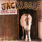 Published photography by Larry Angier..Jackasses 2000 Calendar cover, Browntrout Publishers