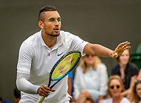 London, England, 2 nd July, 2019, Tennis,  Wimbledon, Nick Kyrgios (AUS)<br /> Photo: Henk Koster/tennisimages.com