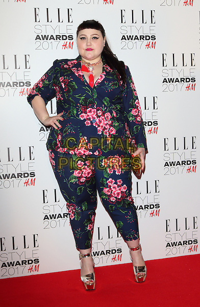 Beth Ditto at the Elle Style Awards 2017 at 41 Conduit Street, London on February 13th 2017<br /> CAP/ROS<br /> &copy; Steve Ross/Capital Pictures