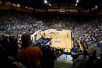 California vs Stanford at Haas Pavilion in Berkeley, California on January 8th, 2013.  Stanford defeated California, 62-53.
