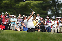 Pat Perez (USA) tees off on the 4th hole during the final round of the 100th PGA Championship at Bellerive Country Club, St. Louis, Missouri, USA. 8/12/2018.<br /> Picture: Golffile.ie   Brian Spurlock<br /> <br /> All photo usage must carry mandatory copyright credit (© Golffile   Brian Spurlock)
