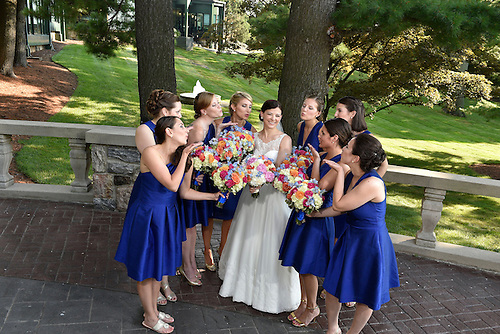 A gala August wedding at Abigail Kirsch's Tappan Hill Mansion