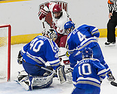 Shane Starrett (AFA - 40), Alexander Kerfoot (Harvard - 14), Phil Boje (AFA - 4) - The Harvard University Crimson defeated the Air Force Academy Falcons 3-2 in the NCAA East Regional final on Saturday, March 25, 2017, at the Dunkin' Donuts Center in Providence, Rhode Island.