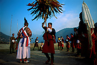 Dancers at the Punakha Festival.