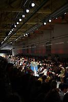 LISBOA, PORTUGAL, 07.03.2020 -MODA LISBOA AWAKE - Modelo durante desfile da grife Ricardo Preto em Lisboa, Portugal, nesse sexta 06. (Foto: Bruno de Carvalho/Brazil Photo Press)