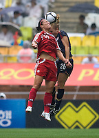 Melissa Tancredi, Rachel Buehler.  The USWNT defeated Canada, 1-0, at Suwon World Cup Stadium in Suwon, South Korea, to win the Peace Queen Cup.