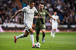 Danielo Luiz Da Silva (l) of Real Madrid fights for the ball with Michal Kucharczyk of Legia Warszawa during the 2016-17 UEFA Champions League match between Real Madrid and Legia Warszawa at the Santiago Bernabeu Stadium on 18 October 2016 in Madrid, Spain. Photo by Diego Gonzalez Souto / Power Sport Images