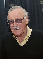 AUSTIN, TX - NOVEMBER 23: Stan Lee at day 2 of Wizard World Austin Comic Con 2013 at the Austin Convention Center in Austin, Texas on November 23, 2013. Credit: Rick Castillo/MediaPunch Inc.