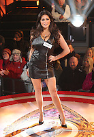 Casey Batchelor at Celebrity Big Brother 2014 - Contestants Enter The House, Borehamwood. 03/01/2014 Picture by: Henry Harris / Featureflash
