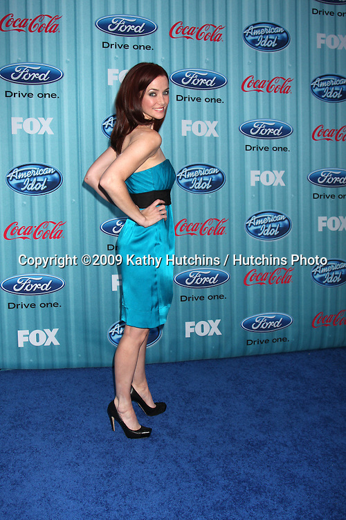 Annie Wersching  arriving at the American idol Top 13 Party at AREA in Los Angeles, CA  on.March 5, 2009.©2009 Kathy Hutchins / Hutchins Photo...                .