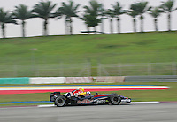 Kuala Lumpur, 28 March 2007: David Coulthard of Red Bull Racing during the 2007 Formula One Testing Session in Sepang Circuit, Kuala Lumpur. Malaysia. Photo Credit: PhotoDesk-Peter Lim