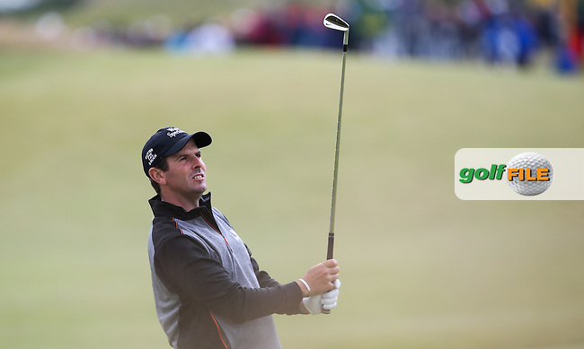Thomas Aiken (RSA) during Round Two of the 144th Open, played at the Old Course, St Andrews, Scotland. /17/07/2015/. Picture: Golffile | David Lloyd<br /> <br /> All photos usage must carry mandatory copyright credit (&copy; Golffile | David Lloyd)