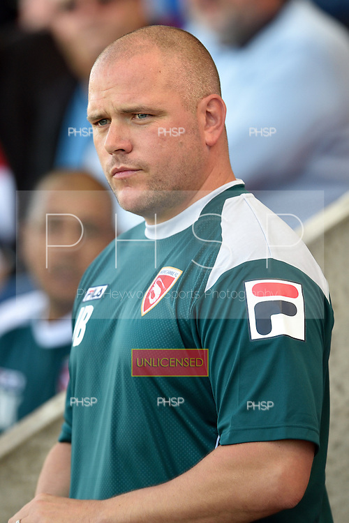 06/09/2014 Sky Bet League Two Morecambe v Cheltenham Town<br /> Jim Bentley, Morecambe FC Manager<br /> <br /> <br /> &copy; Phill Heywood<br /> tel 07806 775649