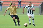 Las Águilas Doradas cayeron 0-2 en su primer juego como local disputado en el Atanasio Girardot, de Medellín, ante Atlético Nacional.