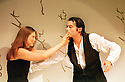 Freya Bosworth,Martin Hodgson in The Secret Life of Ophelia written and directed by Steven Berkoff opens at the King's Head Theatre on 4/7/01  pic Geraint Lewis