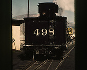 Rear of D&amp;RGW #498's tender.<br /> D&amp;RGW  Durango, CO