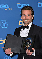 LOS ANGELES, CA. February 02, 2019: Bradley Cooper at the 71st Annual Directors Guild of America Awards at the Ray Dolby Ballroom.<br /> Picture: Paul Smith/Featureflash