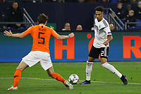 Thilo Kehrer (Deutschland Germany) gegen Daley Blind (Niederlande)- 19.11.2018: Deutschland vs. Niederlande, 6. Spieltag UEFA Nations League Gruppe A, DISCLAIMER: DFB regulations prohibit any use of photographs as image sequences and/or quasi-video.