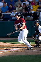 July 4, 2009: Yakima Bears third baseman Matthew Davidson, the Arizona Diamondbacks first pick in the Compensation-A round, at-bat during a Northwest League game against the Everett AquaSox at Everett Memorial Stadium in Everett, Washington.