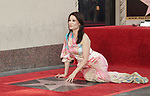 Lucy Liu Honored With Star On The Hollywood Walk Of Fame on May 01, 2019 in Hollywood, California.<br /> a_Lucy Liu 011