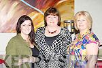 Elaine Sarah Commersford, Caroline Bolger and Margaret Mullins enjoying the fashion show in aid of Irish Hospice Foundation in the Muckross Park Hotel Killarney on Friday