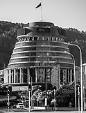 NEW ZEALAND, Wellington,New Zealand Parliament Building The Beehive, Ben M Thomas