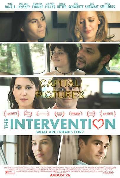 The Intervention (2016)<br /> POSTER ART<br /> *Filmstill - Editorial Use Only*<br /> CAP/FB<br /> Image supplied by Capital Pictures