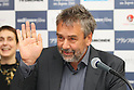 June 23, 2011, French movie directer Luc Besson is interviewed at French Film Festival 2011, which was held at Yurakucho Asahi Hall in Tokyo, Japan.
