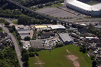 Aerial view of Pic Up spares in Swansea