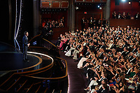 Mark Ruffalo presents the Oscar® for Documentary Feature to Julia Reichert, Seeven Bognar, and Jeff Reichert during the live ABC Telecast of The 92nd Oscars® at the Dolby® Theatre in Hollywood, CA on Sunday, February 9, 2020.<br /> *Editorial Use Only*<br /> CAP/AMPAS<br /> Supplied by Capital Pictures