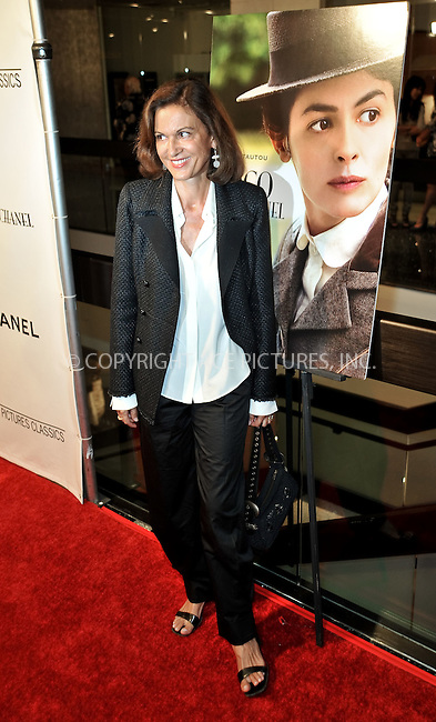 WWW.ACEPIXS.COM . . . . . ....September 9 2009, LA....Director Anne Fontaine at the premiere of the Sony Pictures movie 'Coco Before Chanel' at the Silver Screen theatre in Los Angeles on September 9 2009.....Please byline: JOE WEST- ACEPIXS.COM.. . . . . . ..Ace Pictures, Inc:  ..(646) 769 0430..e-mail: info@acepixs.com..web: http://www.acepixs.com