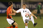 1 November 2006: Virginia's Matt Williams (24). Virginia defeated Clemson 2-0 at the Maryland Soccerplex in Germantown, Maryland in an Atlantic Coast Conference college soccer tournament quarterfinal game.