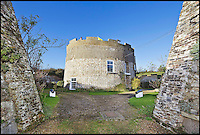 BNPS.co.uk (01202 558833)<br /> Pic: Strutt&amp;Parker/BNPS<br /> <br /> Safe as houses...<br /> <br /> A stunning 207-year-old fortress designed to keep out invaders is now a welcoming home on the market for &pound;750,000.<br /> <br /> The Q Tower, a Martello tower in Felixstowe, Suffolk, retains many of its defensive features, including a dry moat surrounding it with a 4.5metre-high wall, a drawbridge and even a pair of cannons - perfect for deterring unwanted visitors.<br /> <br /> And from the top the striking Grade II listed building the owners will be able to enjoy stunning panoramic views along the coastline and out to sea.<br /> <br /> The tower was built in 1810 and was an important element in the defence of the south-east coast against the threat of invasion during the Napoleonic War.