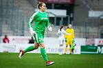 16.03.2019, Stadion Essen, Essen, GER, AFBL, SGS Essen vs TSG 1899 Hoffenheim, DFL REGULATIONS PROHIBIT ANY USE OF PHOTOGRAPHS AS IMAGE SEQUENCES AND/OR QUASI-VIDEO<br /> <br /> im Bild | picture shows:<br /> Cara Boesl (FFC Frankfurt #26) kommt f&uuml;r Bryane Heaberlin (FFC Frankfurt #1) neu ins Spiel, <br /> <br /> Foto &copy; nordphoto / Rauch