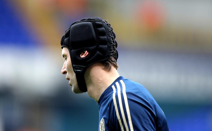 Chelsea's Petr Cech ..Football - Barclays Premiership - Satuday 20th October 2012 - Tottenham Hotspur v Chelsea - White Hart Lane - London..