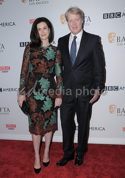 15 September  2017 - Beverly Hills, California - Karen Spencer, Charles Spencer. 2017 BAFTA Los Angeles BBC America TV Tea Party  held at The Beverly Hilton Hotel in Beverly Hills. Photo Credit: Birdie Thompson/AdMedia