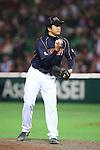 Hirokazu Sawamura (JPN), .MARCH 6, 2013 - WBC : .2013 World Baseball Classic .1st Round Pool A .between Japan 3-6 Cuba .at Yafuoku Dome, Fukuoka, Japan. .(Photo by YUTAKA/AFLO SPORT) [1040]