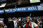 07 December 2013: Kansas City fans. MLS Cup 2013 was played between Sporting Kansas City and Real Salt Lake at Sporting Park in Kansas City, Kansas.
