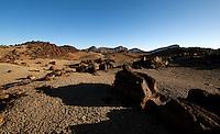 Shadows and rocks,Parque nacional de las Cañadas,Tenerife, Gran Canaria, Spain