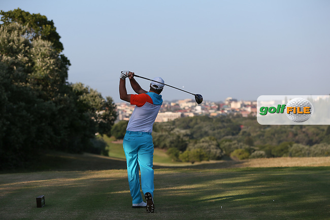 Callum Mowat (RSA) drives down the 11th during Round One of the Africa Open 2015 at the East London Golf Club, East London, Eastern Cape, South Africa. Picture:  David Lloyd / www.golffile.ie. 05/03/2015