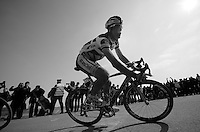 111th Paris-Roubaix 2013..Juan Antonio Flecha (ESP) at Carrefour de L'arbre.
