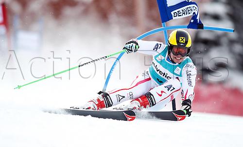 04.12.2011. Beaver Creek Colorado USA Ski Alpine FIS World Cup Giant slalom the men Picture shows Marcel Hirscher AUT