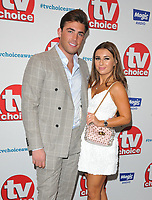 Jack Fincham and Dani Dyer at the TV Choice Awards 2018, The Dorchester Hotel, Park Lane, London, England, UK, on Monday 10 September 2018.<br /> CAP/CAN<br /> &copy;CAN/Capital Pictures
